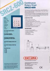 SRCZ-600 Rotary Dryer 2