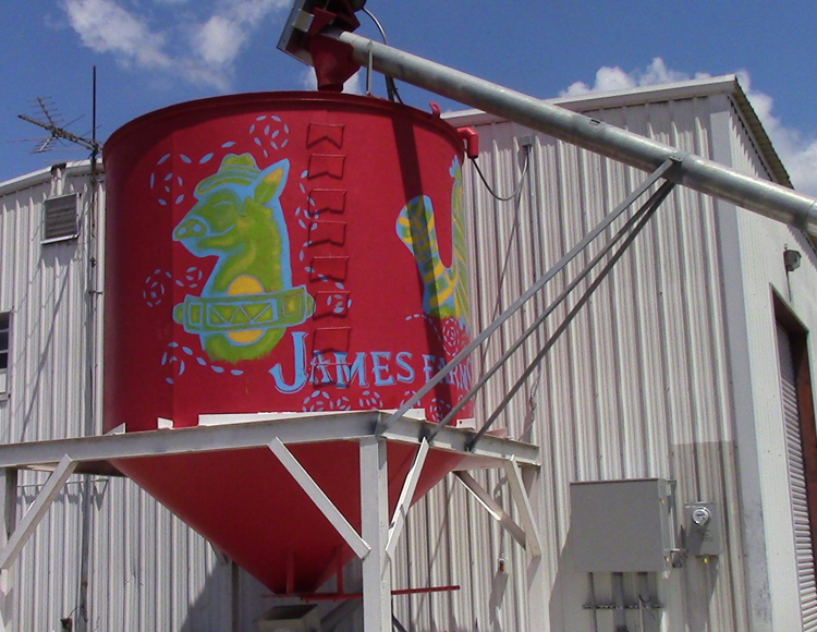 James Farms ZX-6 Rice Milling System