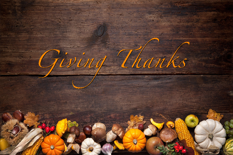 Giving Thanks – The ZaccariaUSA Way